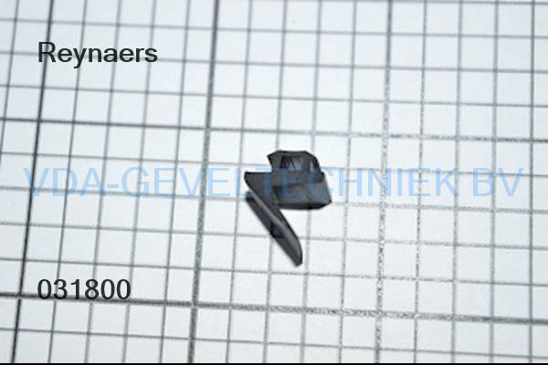 Rubber Type 318. Reynaers aanslagdichting. (Afdichting) (Gummi)