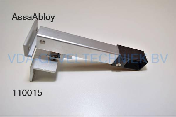 Assa Abloy raamuitzetter bruin/alu 150mm