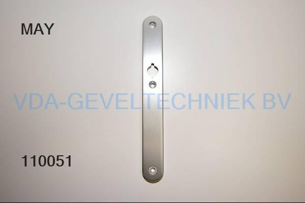 HVN deurkruk langschild blindschild (greep)