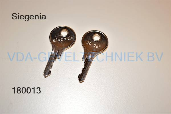 Siegenia sleutel 2D027