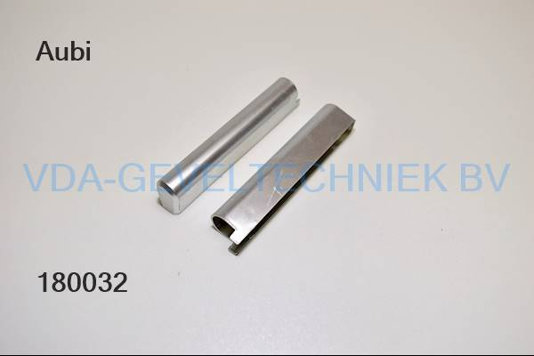 Aubi EK211-60504 scharnierkap zilverkleurig