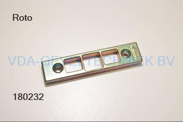 Roto kantschuif (Kantenriegel)sluitplaat infrees k605b56