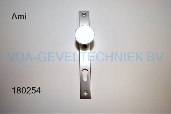 Ami deurknop langschild pc92 massief