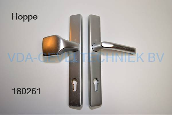 Hoppe deurkruk/knop langschild pc92 EV1