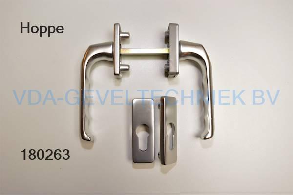 Hoppe deurkruk garnituur 013/51n/51pns (greep)