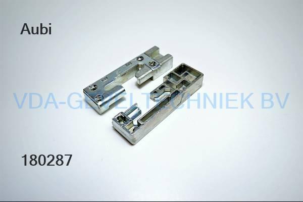Aubi kiepsluitplaat KT802-1LV01