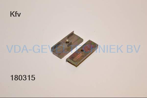 KFV rolnoksluitplaat 8092-620