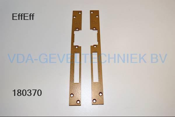 EffEff voorplaat elektrische opener L+R