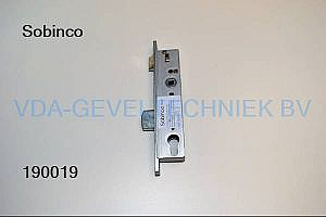 Sobinco dag- en nachtslot 8002DS-25 DRN30 PC 97.3 VP 23.5 Schieter-A Hoofdslot t.b.v. Triple-Slot DIN LINKS