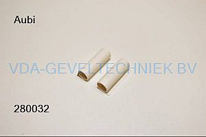 Aubi afdekkap bovenscharnier LK006 Creme RAL9001