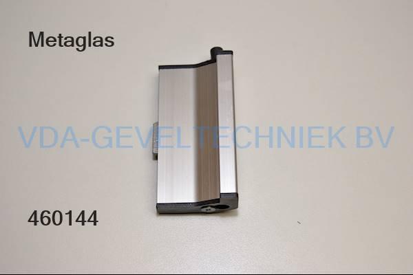 Metaglas schuifraamgreep rechts 7020R (kruk)
