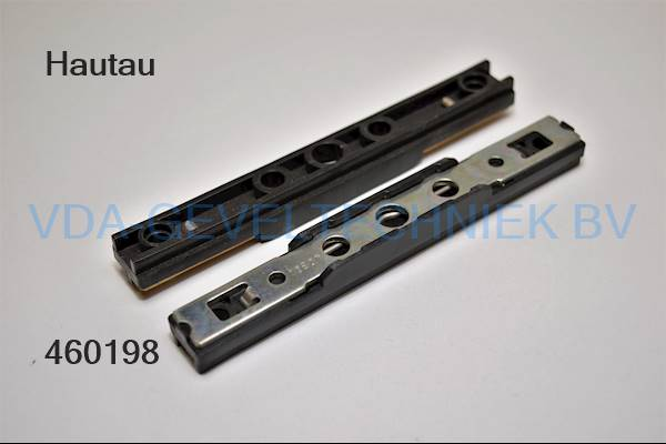 geleidblokje bovenrails 10B07 (zwart)