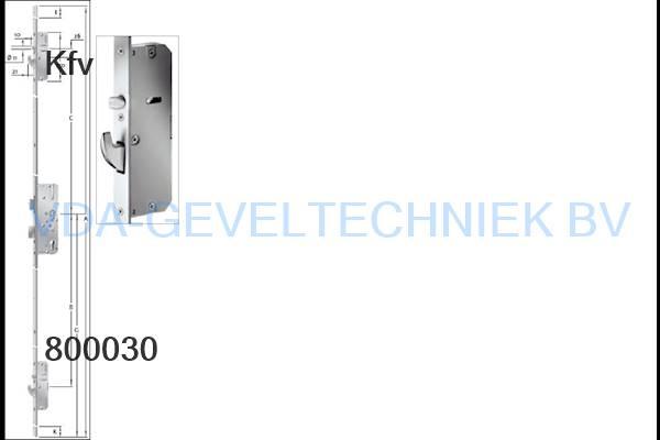 KFV AS2750SLQF meerpuntssluiting