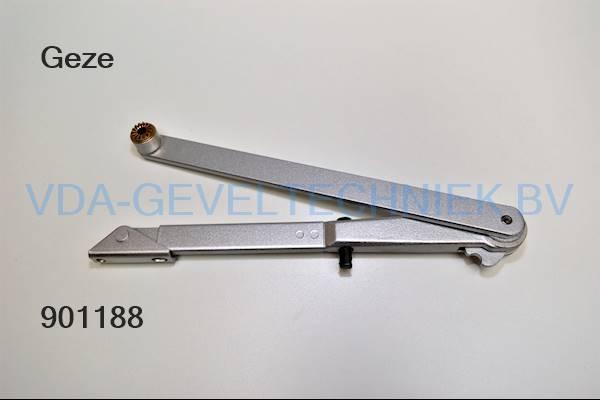 Geze knikarm t.b.v. TS4000/TS2000V met