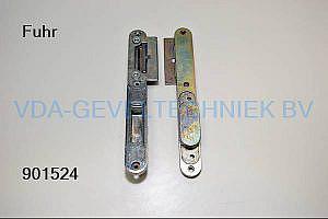Fuhr Dag- en nachtsluitplaat 4mm Falzluft dagschoot 38mm