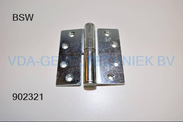 BSW scharnier kogelpaumelle 89x89 BB
