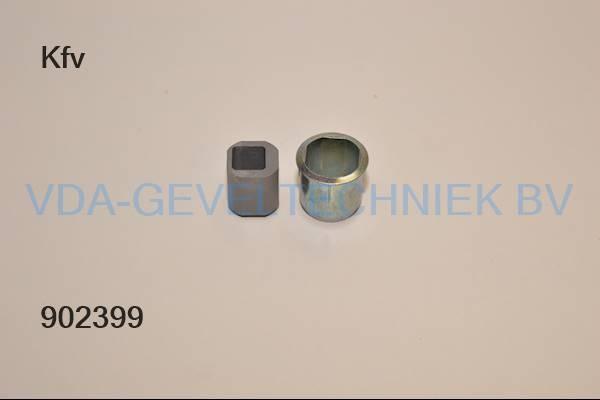 KFV Sluitpot Verstelbaar 8028-4V
