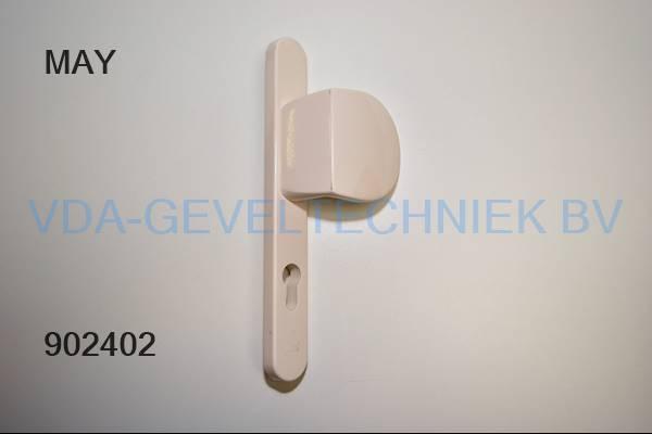 HVN deurduwer/deurgreep 740 OP 6011-BU