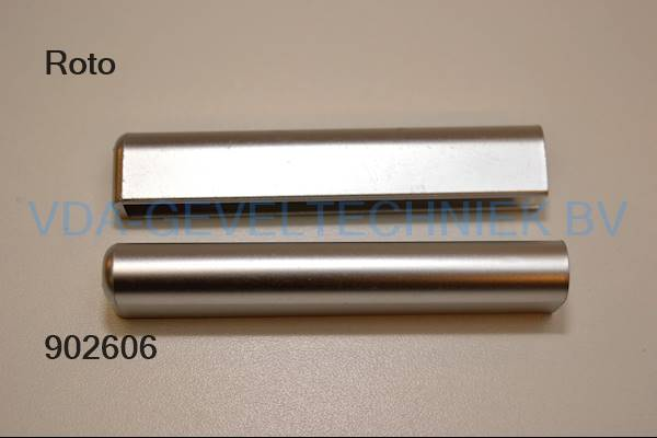 Roto afdekkap (Abdeckkappe) zilver R.01.1