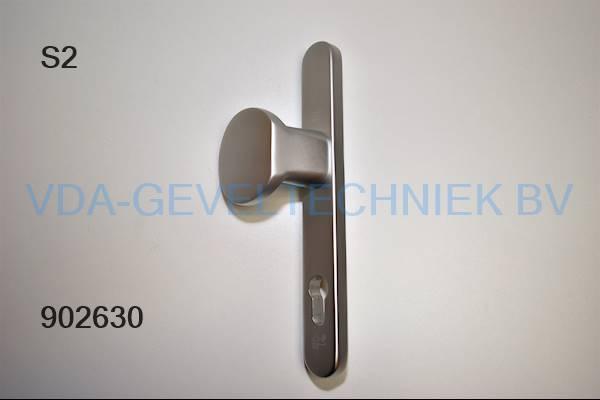 S2 veiligheidsbeslag deurkruk/deurgreep/duwer BU ev1