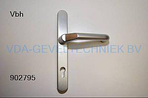 Alcoa/Kawneer deurkruk op langschild BU