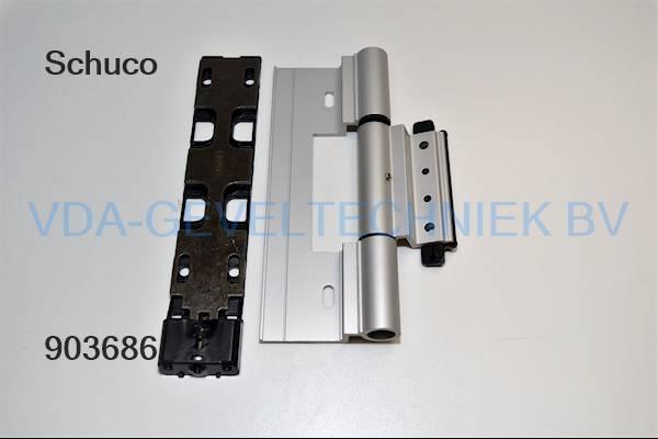 Schuco alu Rollen/klemscharnier R01