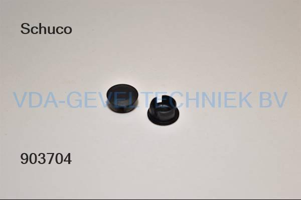 Schuco afdekkap (Abdeckkappe) zwart