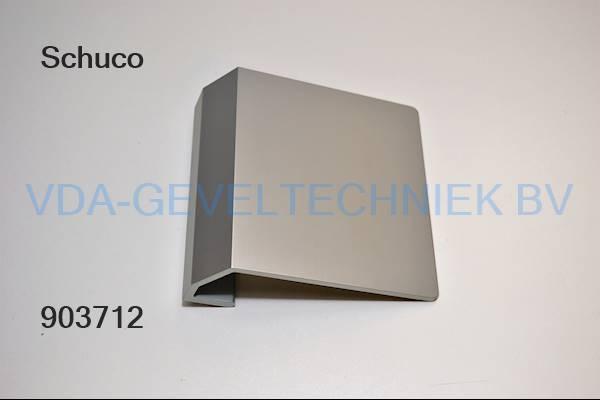 Schuco alu Deurgreep 130x130