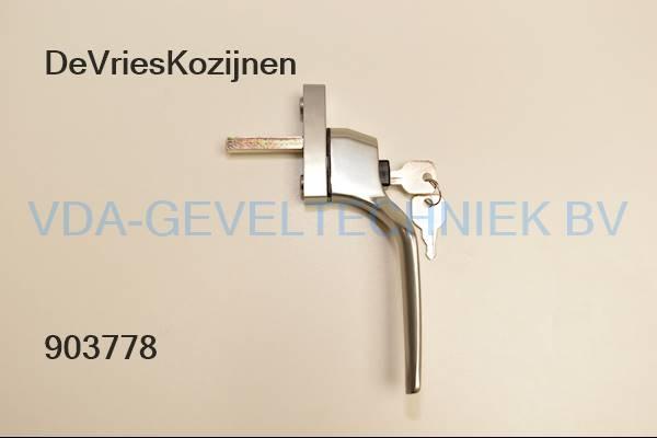De Vries Kozijnen raamgreep/raamkruk