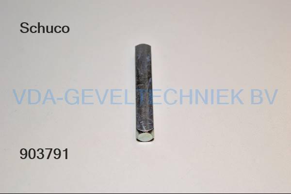 Schuco krukstift M10x60MM 238386