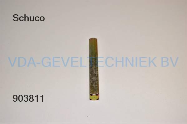 Schuco krukstift M10x85 MM