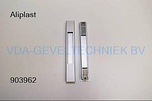 Aliplast aluminium schuifpui komgreep 178x25