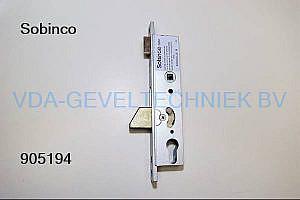 Sobinco dag- en nachtslot 8002DS-25 DRN25 PC 97.3 VP 23.5 Schieter-B Hoofdslot t.b.v. Triple-Slot DIN RECHTS