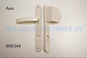 Ami deurkruk/duwer/deurgreep langschild BU/BI pc92