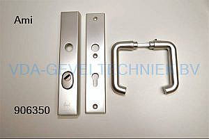 Ami deurkruk langschild BU/BI 251/50