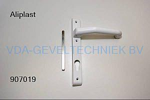 Aliplast deurkruk/greep pc92 RAL9016 incl.