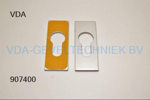 Aluminium plak rozet voor profiel