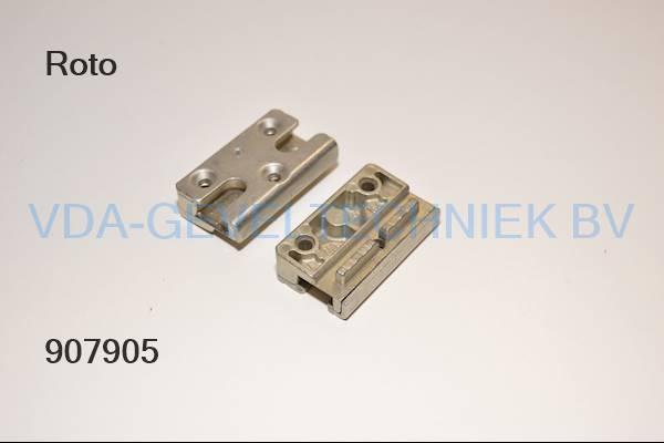 Roto 230096 veiligheidssluitplaat / Sicherheits-Schließblech