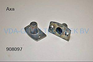 AXA SK6 raam oplegslot/cilinder infrees
