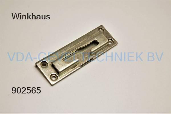 Winkhaus kiepsluitplaat links KS569
