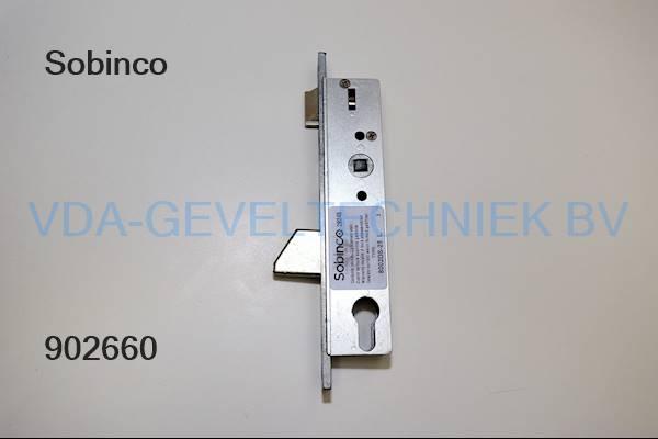 Sobinco dag- en nachtslot 8002DS-25 DRN25 PC 97.3 VP 23.5 Schieter-B Hoofdslot t.b.v. Triple-Slot DIN LINKS