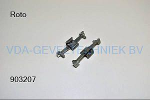 Roto alu sluitstuk V02 Nut 10-11.5