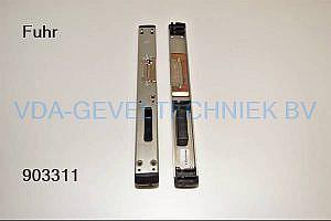Fuhr Dag- en nachtsluitplaat RFP55812LX Links
