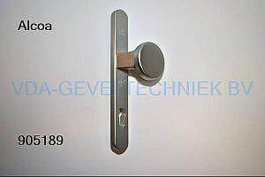 Alcoa/Kawneer Deurduwer/knop Langschild BU SKG