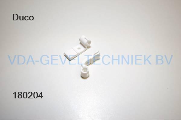 Duco gebogen hendel 1268 15mm