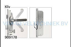KFV  AS4540AG meerpuntssluiting 45/92/8 2400mm 2x haak B003