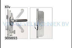 De Vries/KFV meerpuntssluiting  AS4900 45/92/F20 L=1915 W000 krukbediend
