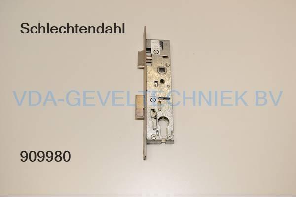 Schlechtendahl + Sohne WSS dag en nachtslot Paniek Drn 30 PZ92 mm  voorplaat RVS 235 x 24 mm Rechts + links