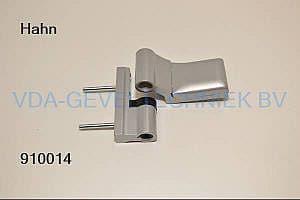 Dr Hahn 2-delig scharnier KT-Band Rehau-SKG zilver metallic 003 K60490051