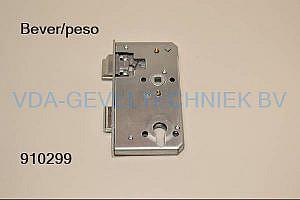 Bever onderdeel insteek Dag en nachtslot  Drn 60  PZ72  voorplaat 165 x 24 mm  . mogelijkheid tot voorstand dagschieter